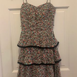 B. Darlin Floral Spaghetti Strap Dress